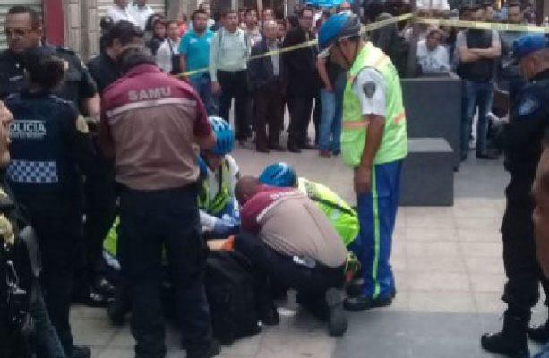 Deja intento de asalto en Centro Histórico dos heridos