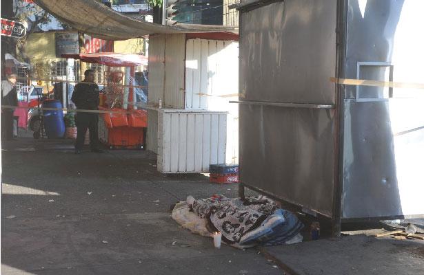 Muere hombre en situación de calle en la Doctores