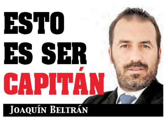 Esto es ser capitán