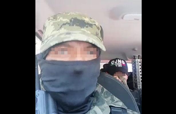 Investigan procedencia de video de supuesto CJNG en la GAM [VIDEO]