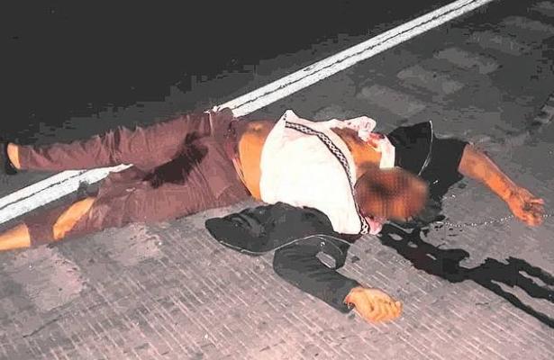 Arrojan el cadáver de un joven ejecutado en la México – Querétaro