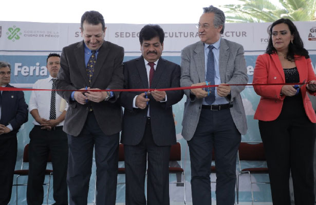 Inauguran en Gustavo A. Madero Feria de créditos para emprendedores