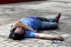 Abuelito pierde la vida en un parque de la Cuauhtémoc