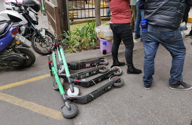 Publican lineamientos para monopatines, patines, bicicletas o ruedas eléctricas