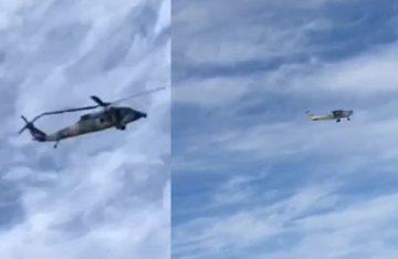 [Videos] Semar asegura avioneta luego de persecución por aire, en Sinaloa