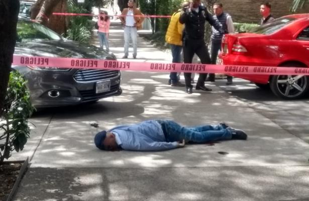 Ladrón muere a balazos al intentar despojar de 200 mil pesos a su víctima