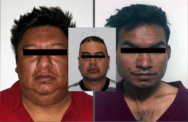 Detienen a tres asesinos que operaban en Tlalnepantla, Naucalpan y Atizapán de Zaragoza