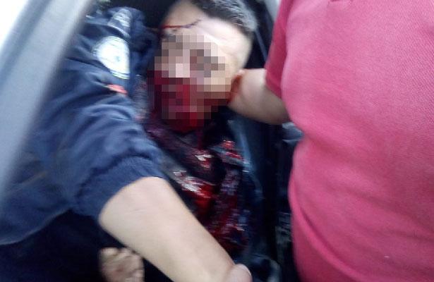 Mueren dos policías en fuerte choque automovilístico en Guanajuato