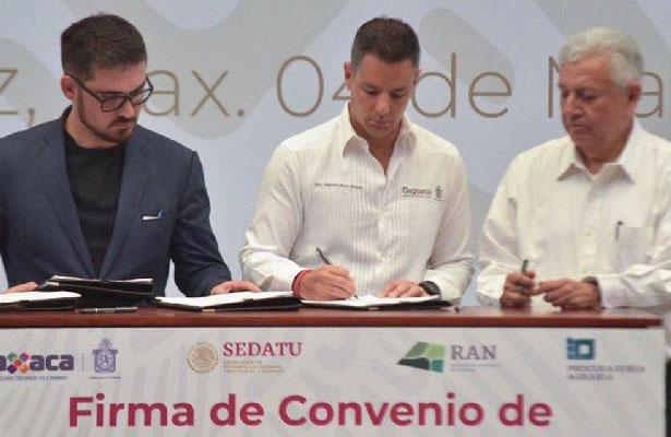 Anuncia SEDATU apoyos para damnificados por mas de 4 mil millones de pesos en Oaxaca