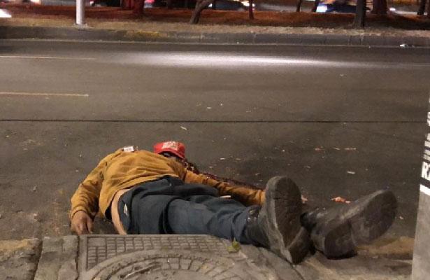 Por mal paso muere atropellado en la calzada Zaragoza