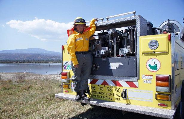 Combatiente de incendios pide a capitalinos tomar conciencia