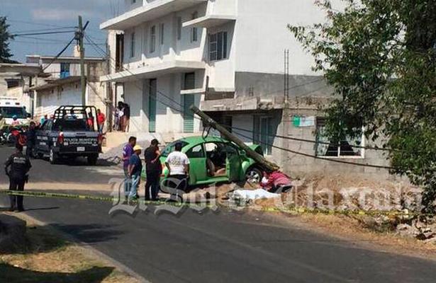 Muere menor de edad tras ser arrollado por un auto, en Tlaxcala