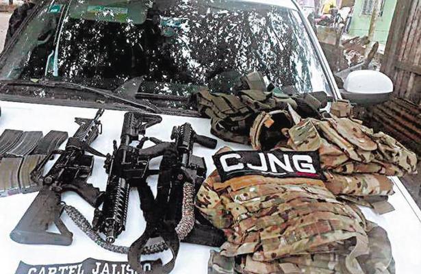 Veracruz, zona de guerra por choques con CJNG