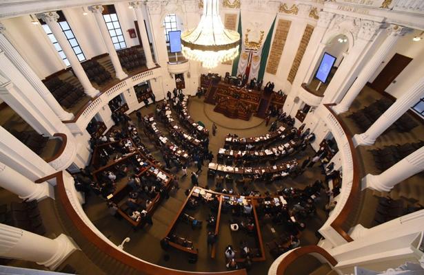 Congreso Capitalino la creación de la Guardia Nacional