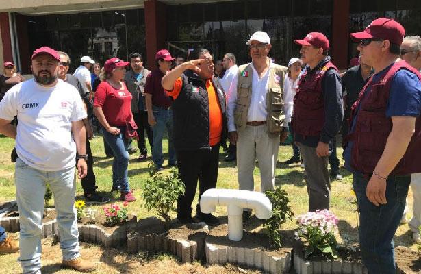 Alcaldía de Iztacalco instala sistema de captación de agua pluvial