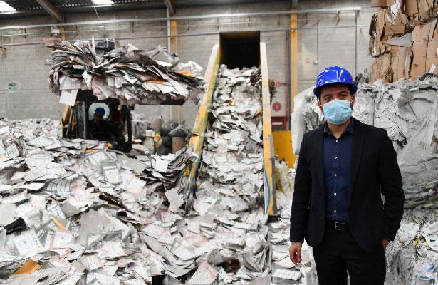 Destruye IECM documentos electorales para ser reciclados