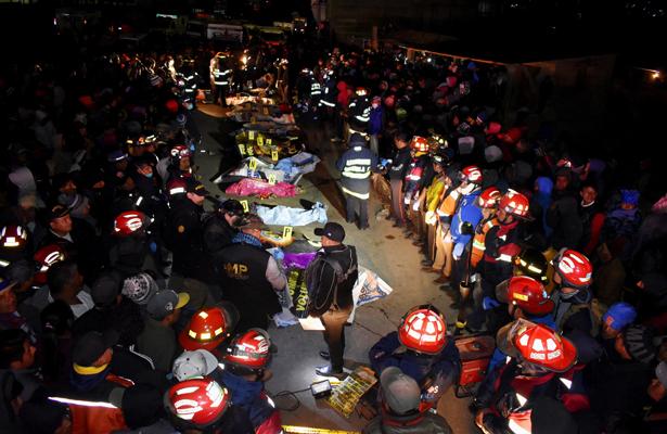 Baja a 18 muertos y 19 heridos por accidente en Guatemala