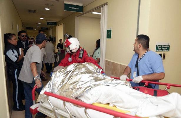Atiende IMSS a 11 pacientes heridos por explosión de tanques de gas en Nezahualcoyotl