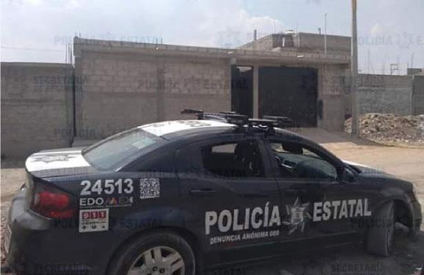 Descubren inmueble donde eran almacenados autos robados en Tezoyuca