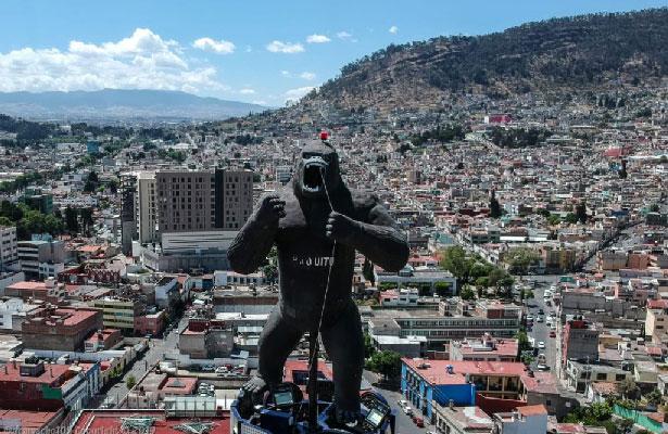 ¡King Kong invade Toluca!