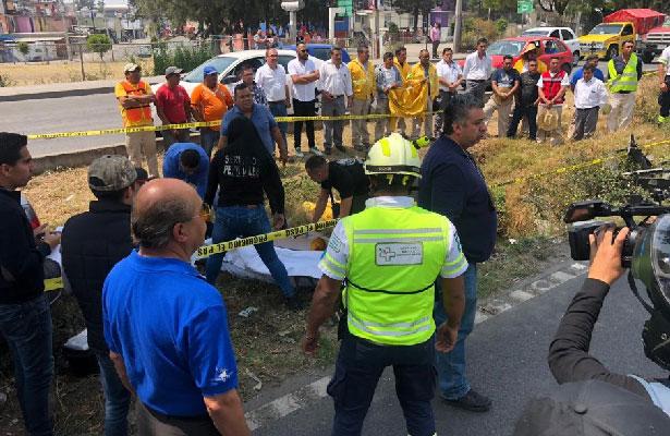 Mueren arrollados dos empleados de Capufe en la México Querétaro