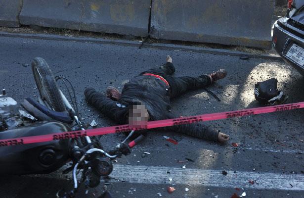 [Fotos] Motociclista pierde la vida en la México Querétaro