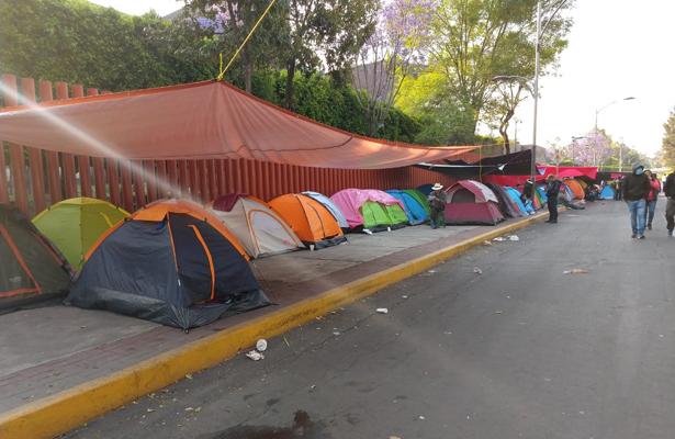 Se suma la CNTE Oaxaca al paro nacional que se realiza en la CDMX