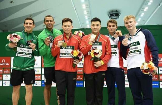 Pacheco y Ocampo consiguen plata en Serie Mundial de Clavados