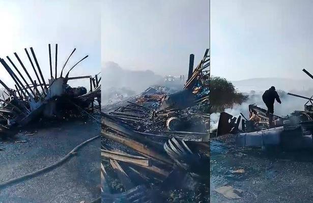 [VIDEO] Accidentes múltiples en carretera de San Luis; choques, incendios y un muerto