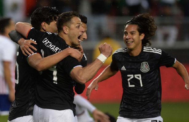 Deslucido triunfo de la Selección Mexicana ante Paraguay
