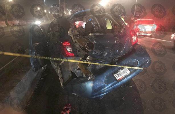 Pierde la cabeza y la vida en accidente vehicular en la GAM