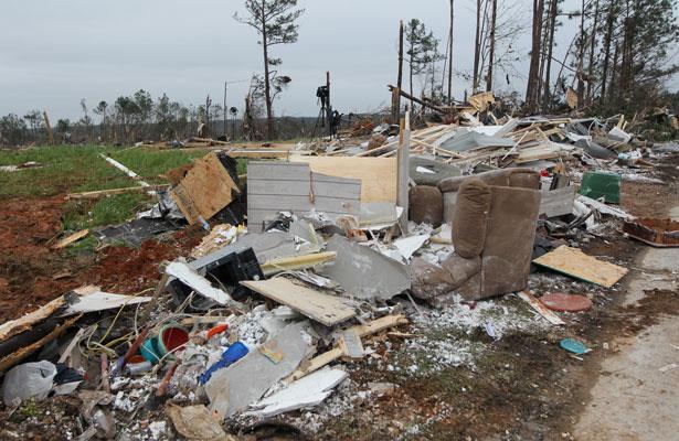Tornados en Alabama deja al menos 22 muertos