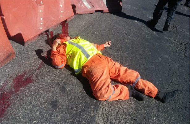 Muere arrollado un trabajador en la México-Toluca