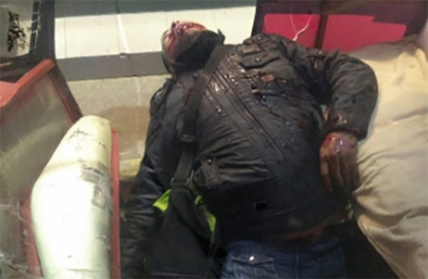 Muere al intentar asalto a combi donde un pasajero iba armado, en Chicoloapan
