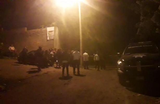 Le meten bala en Uruapan, Michoacán