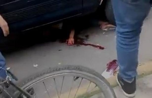 [Video] Ladrón suplica por atención médica al ser atropellado