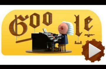 Google crea doodle en homenaje al compositor Bach