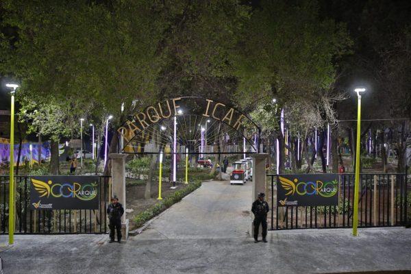 Reinauguran Parque recreativo Ícaro en Venustiano Carranza