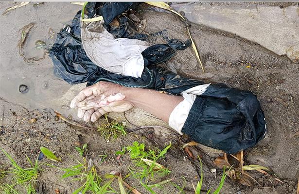 ¡Macabro!.. ahora encuentran mano y brazo de un hombre en Tijuana