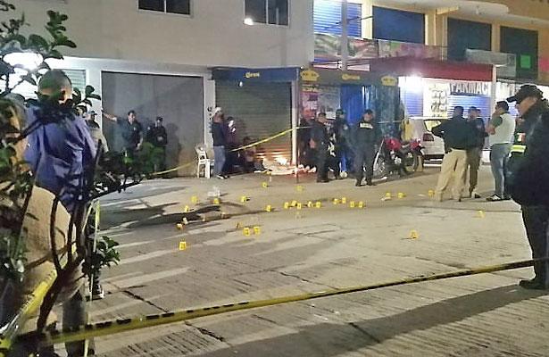 Brutal balacera en Naucalpan deja dos muertos