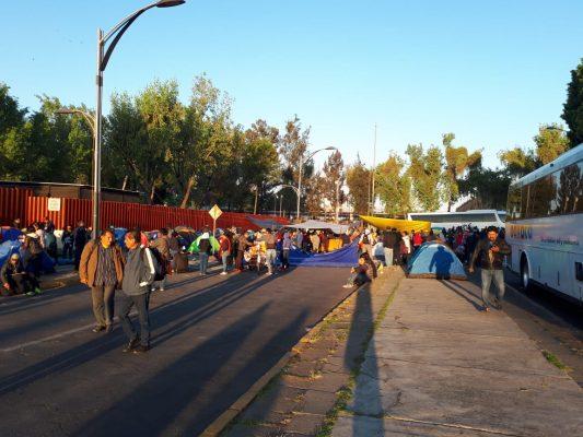 Desbloquean maestros accesos a San Lázaro