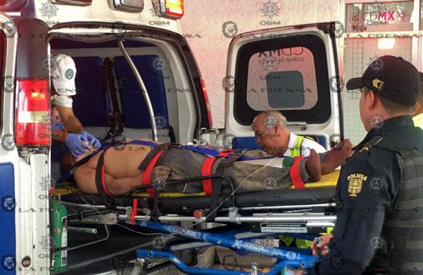 Casi linchan a cuatro sujetos en Milpa Alta