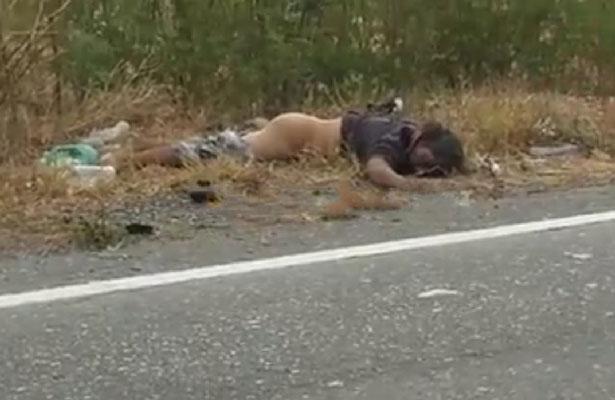 Descubren cadáver en la carretera a Salina Cruz
