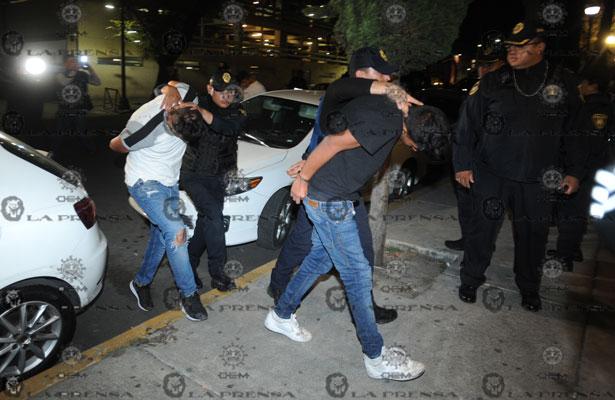 Atoran a seis en el centro de la CDMX, dos son presuntos integrantes de La Unión Tepito