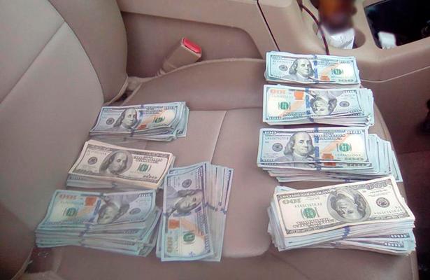 Capturan a hombre con más de 70 mil dólares de presunta procedencia ilícita