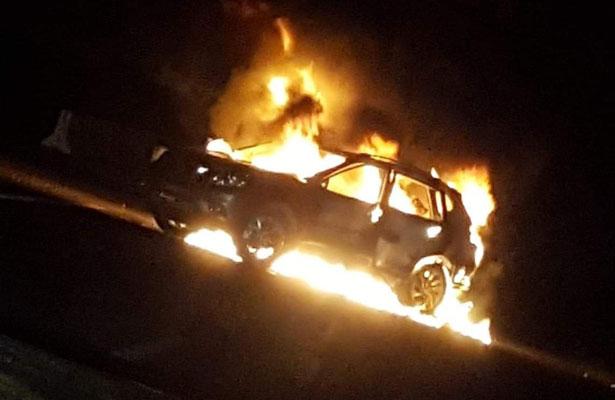 Disturbios en carreteras de Guanajuato por operativo de la Marina