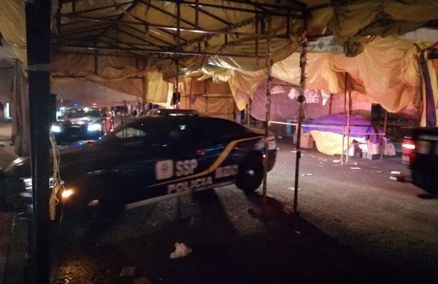 Plomean a tres en el corazón del Barrio Bravo de Tepito, uno murió
