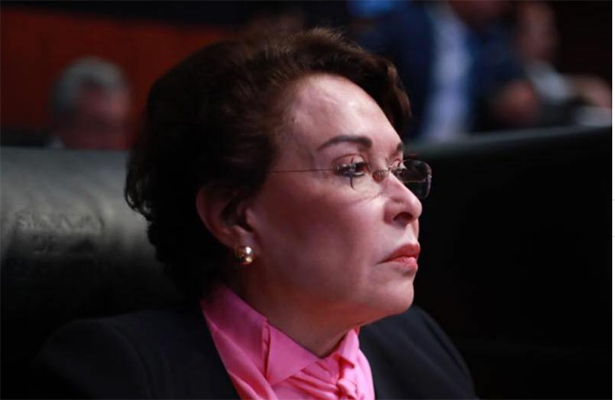 """Llama senadora """"retrasados mentales"""" a periodistas por cuestionar contrato de la CFE"""