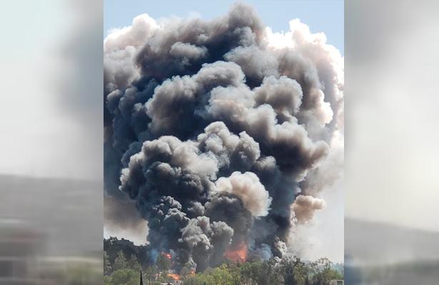 [VIDEOS] Explota polvorín en Chimalhuacán