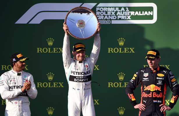 Valtteri Bottas se lleva el GP de Australia